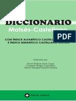 Diccionario Matsés