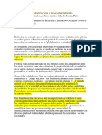 CHONCHOL, Jacques. Globalización y Neocolonialismo