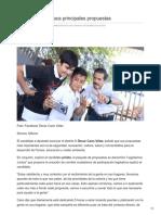 06-06-2018 Óscar Cano destaca principales propuestas