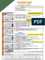 Calendario Geral 2018