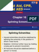 Extremities Splinting