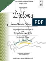 Diploma Curso Niños Instructor