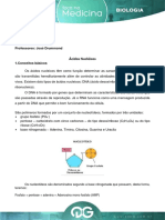 Aula 1 - F.M. - Biologia - Jose Drummond - Acidos Nucleicos