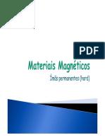 Aula 6 - Materiais Magnéticos e Aplicações _ Permanentes