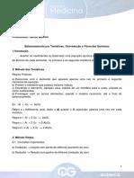Aula 2 - F.M. - Quimica - Helton Moreira - Balanceamento Por Tentativas, Oxirreducao e Formulas Quimicas