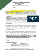Formato Informe Técnico de Inspección Bienes