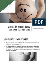 Atención Psicológica Durante El Embarazo