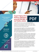 Drive new initiatives with a powerful Dell EMC, Nutanix, and Toshiba solution