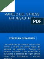 MANEJOS DEL STRESS EN DESASTRES.ppt