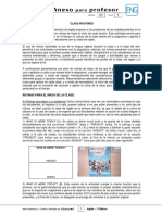 1Basico - Anexo Profesor Ingles - Semana 01 - Rutinas de Clase