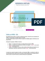 Estilos en HTML