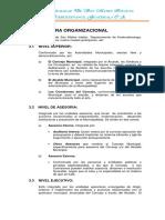 01. Estructura Organica y Funciones de Cada Dependencias y Departamentos