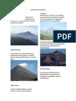 Volcanes de Guatemala