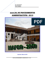 Mapro 2010 MPH