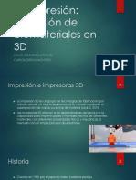 Bioimpresión en 3D