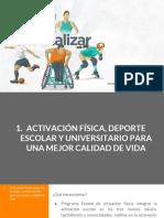 Presentación del eje de Deporte para Jalisco