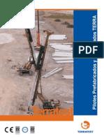 Catalogo Pilotes Prefabricados y Pretensados Terratest