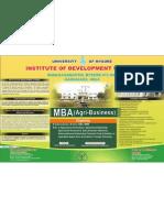 MBA Agribusiness