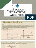 Métodos Iterativos Abiertos