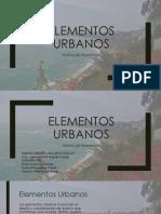 Elementos Urbanos- Barranco