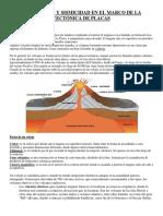 Volcanismo y Sismicidad en El Marco de La Tectónica