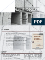 Chapter 1-Concrete Masonry