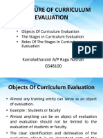 The Nature of Curriculum Evaluation