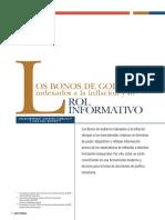 Bonos Indexados Inflación