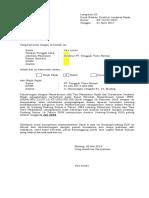 Pernyataan Pengungkapan Pasal 8 KUP (1)