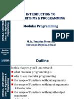 11 - Modular Programming