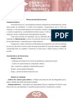 Aula 7 - C.C. - Literatura - Silvia Gelpke - Material Do Aluno
