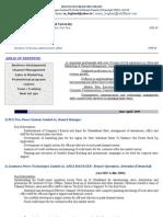 S & M Job Profile