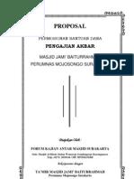 Proposal Daurah