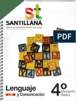 Test Santillana - 4° Básico