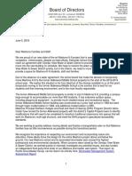 Madrona Letter - June 5, 2018