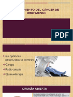 Tratamiento Del Cáncer de Orofaringe
