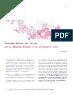 04. Función Ritual Del Tejido en El Mundo Andino... Teresa Gisbert (1)