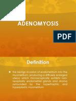 ppt adenomyosis