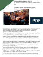 Asesinato de Joven Indigena Enluta Al Pueblo de Corinto - 2017-05-09