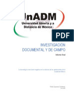La tecnología como factor negativo en la nutrición de los adolescentes de la Ciudad de México