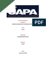 Tarea 4 y 5 de Didactica Especial de Ciencia Sociales