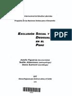 EXCLUSIÓN SOCIAL Y DESIGUALDAD EN EL PERÚ - ADOLFO FIGUEROA - TEOìFILO ALTAMIRANO - DENIS SULMONT.pdf