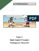 2018 Pythagoras Booklet