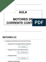 Aula Motores de Corrente Contínua