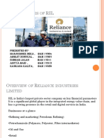 Ratio Analysis of RIL