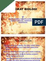 HAKIKAT BIOLOGI