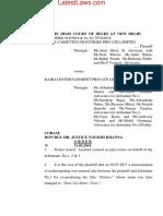 Delhi HC Order on Movie Batti Gul Meter Chalu
