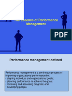 1 the Essence of Performance Management