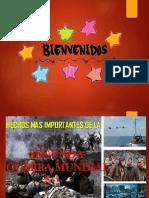 Hechos de La Segunda Guerra Mundial