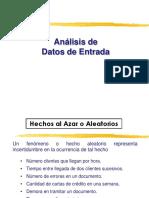 Análisis de Datos de Entrada
